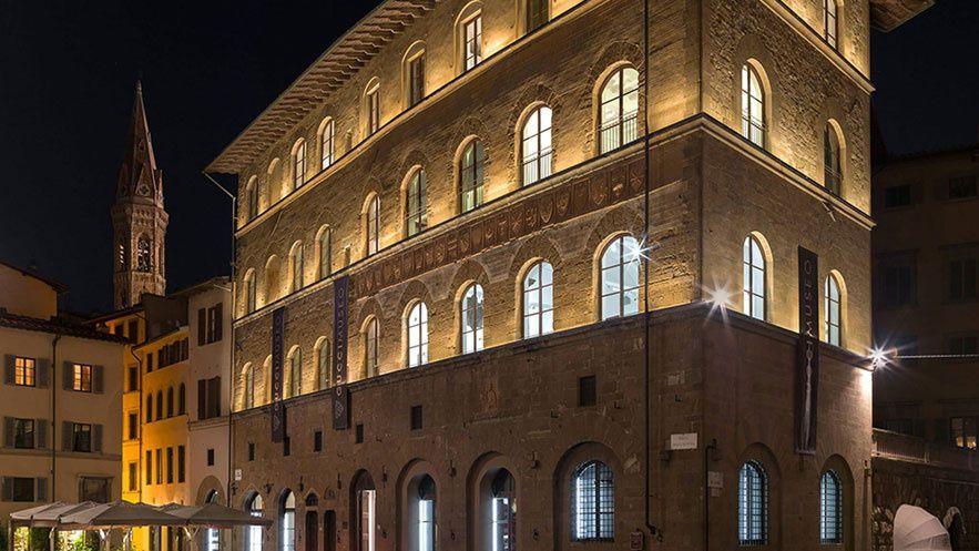 Le Palazzo della Mercanzia, siège du Gucci Museo