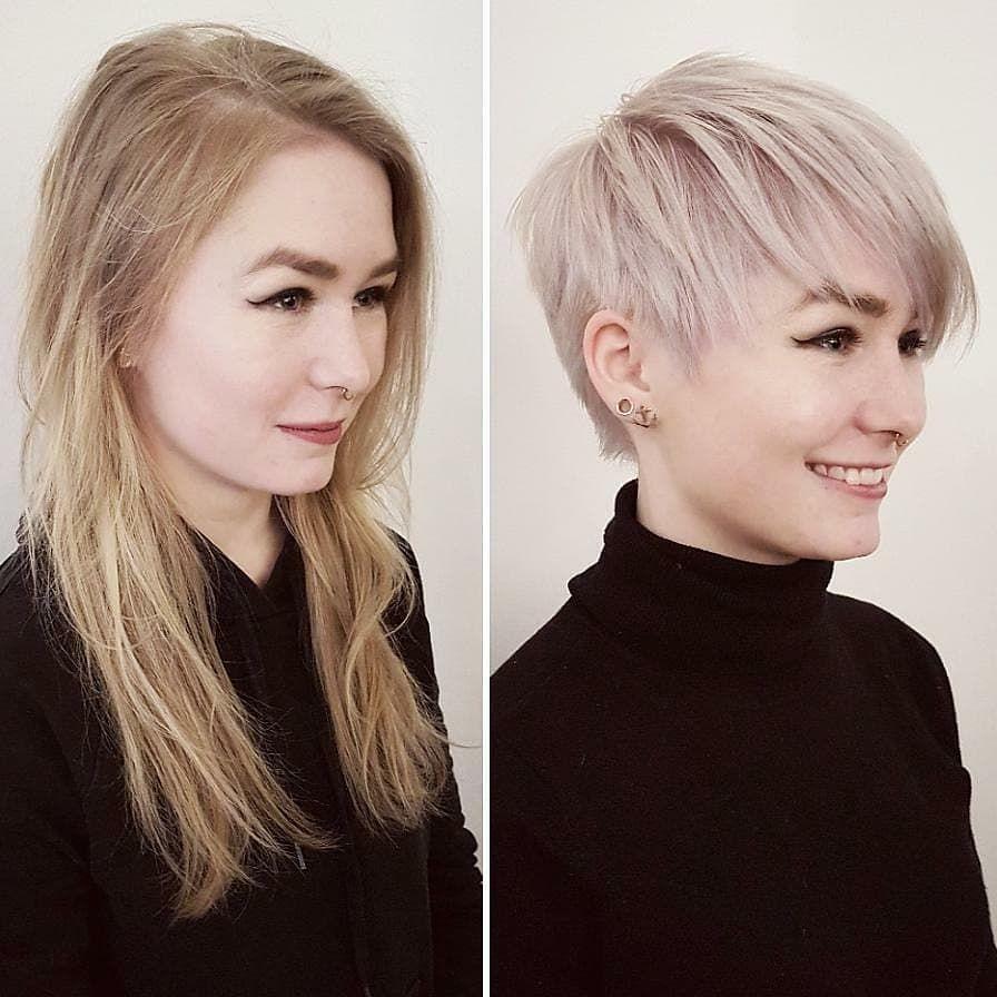097ea439b #modelos de pelo corto 2018 10 cortes de pelo cortos y lindos para mujeres  que desean una nueva imagen inteligente #Peinados #nuevo #cabello #models#10  ...
