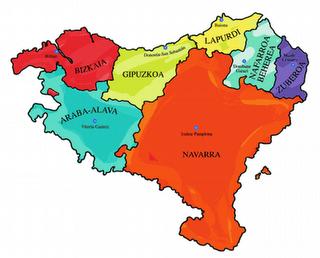 Mapa Pais Vasco Frances.El Pais Vasco Frances Em 2019 Pai