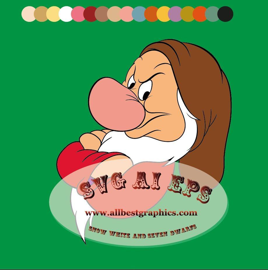 I'm Grumpy - Disney clipart | Snow White | Seven Dwarfs ...