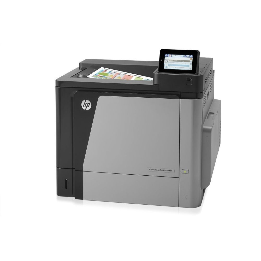 HP LaserJet M651n Laser Printer - Color - 1200 x 1200 dpi Print - Plain paper CZ255A