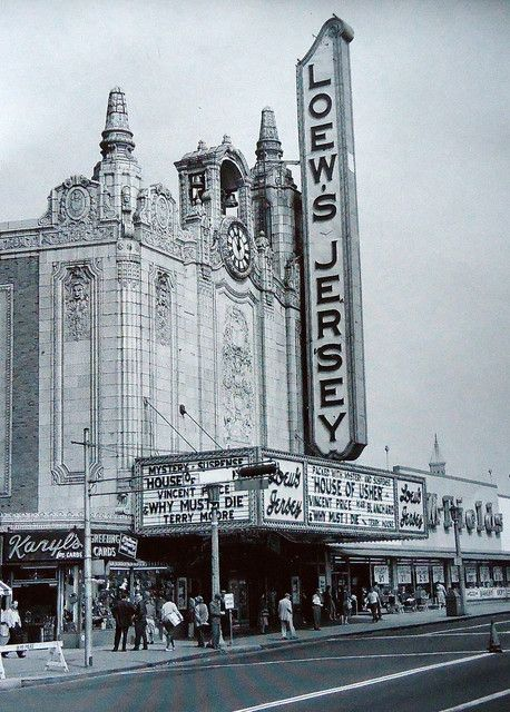 Loew S Jersey Theatre In Jersey City Nj Jersey City City Vintage Movie Theater