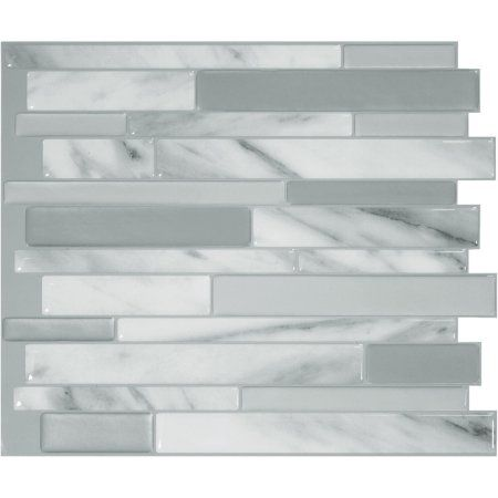 Home Improvement Smart Tiles Decorative Wall Tiles Peel Stick