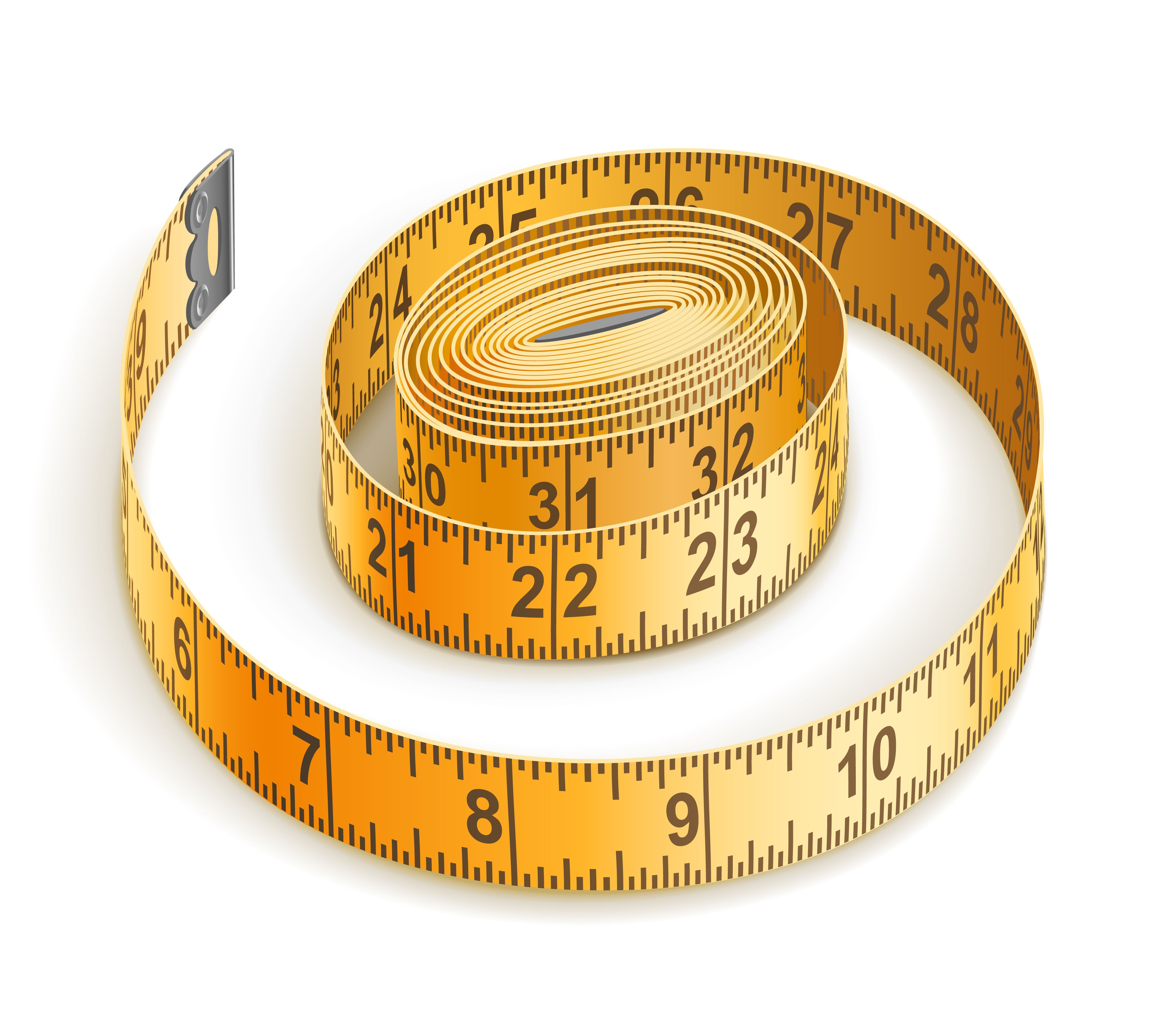 Metro 4400x3498 Sewing Clipart Sewing Tape Measure Tape Measure
