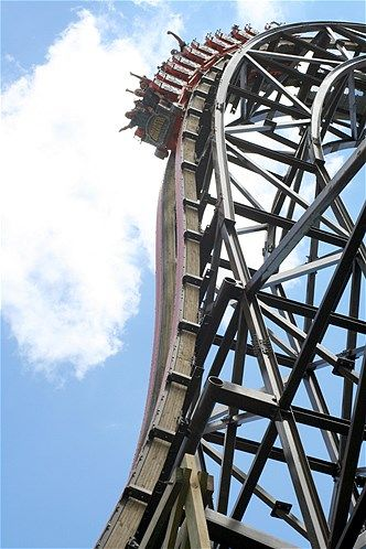 Goliath At Six Flags Great America In Gurnee Illinois Best Roller Coasters Amusement Park Rides Roller Coaster