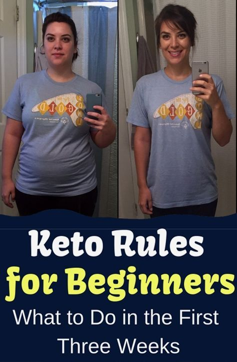 Keto Rules for Beginners: The First Three Weeks
