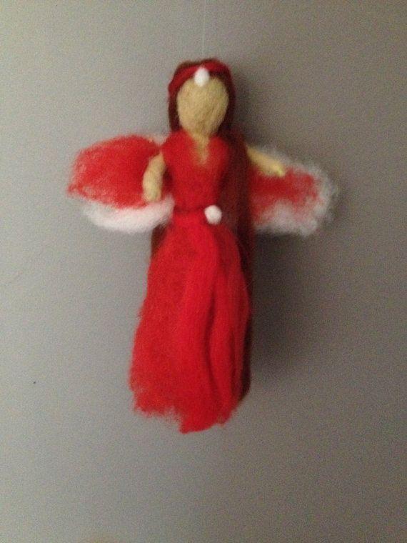 Needle Felted Fairy by NicolasLoft on Etsy, £12.00