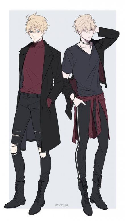 Cool Anime Outfits For Guys : anime, outfits, Ideas, Clothes, Reference, Anime, Guys,, Outfits,, Character, Design