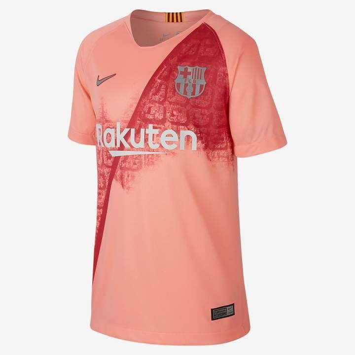 Nike 2018 19 FC Barcelona Stadium Third Big Kids  Soccer Jersey ... 38a10b71c