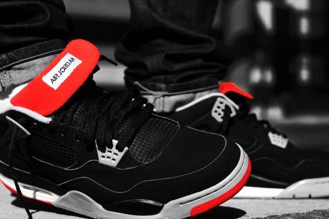 e4fd50140b9e Air Jordan IV - Bred (by Rhay Garrett)  sneakers