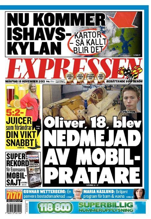 Dagens Expressen Expressen Senaste Nytt Nyheter Sport Noje Tv