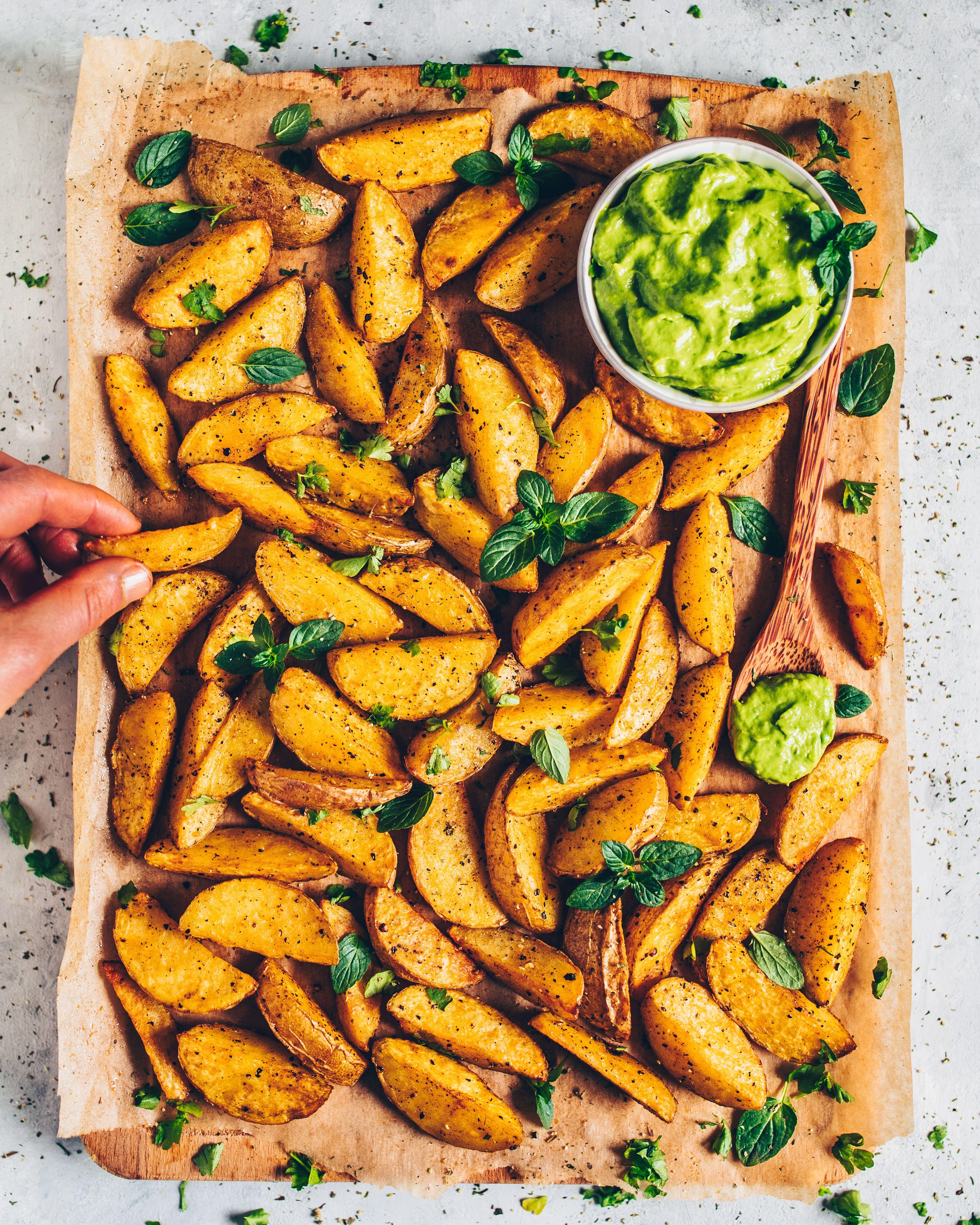 Knusprige Kartoffelecken (Potato Wedges)