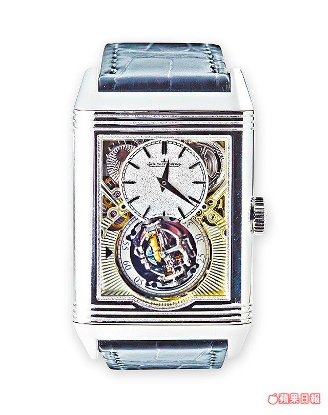 729bfa31cd2 積家Reverso Tribute Gyrotourbillon全新球體陀飛輪腕錶,鉑金材質限量推出75只。未定價