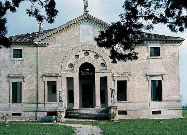 Andrea Palladio, Villa Poiana (fronte)(1549) Venecia
