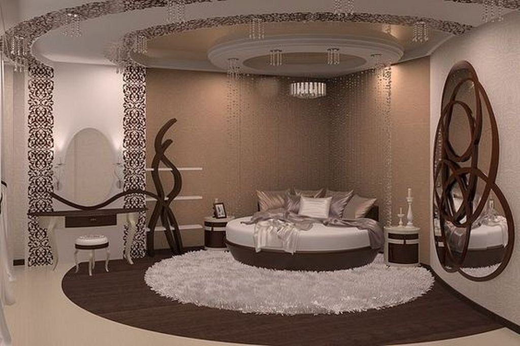 15 Most Amazing Modern Round Beds Ideas You Ll Ever See Ceiling Design Bedroom Luxurious Bedrooms Bedroom Design