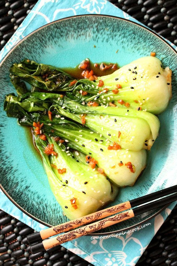 Baby Bok Choy with Garlic & Ginger images