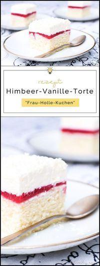 Himbeer-Vanille-Torte (Frau Holle Kuchen) #essenundtrinken