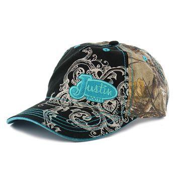 c17fc248beb Justin Women s Camo Ball Cap