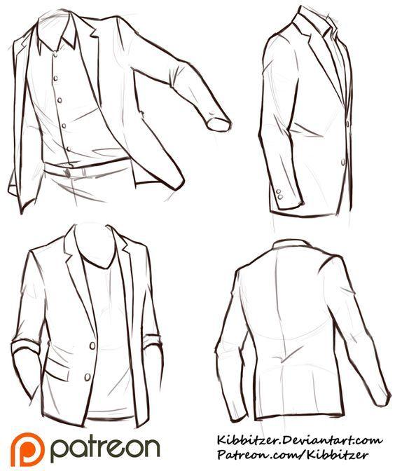 Jackets Reference Sheet by Kibbitzer.deviantart.com on @DeviantArt