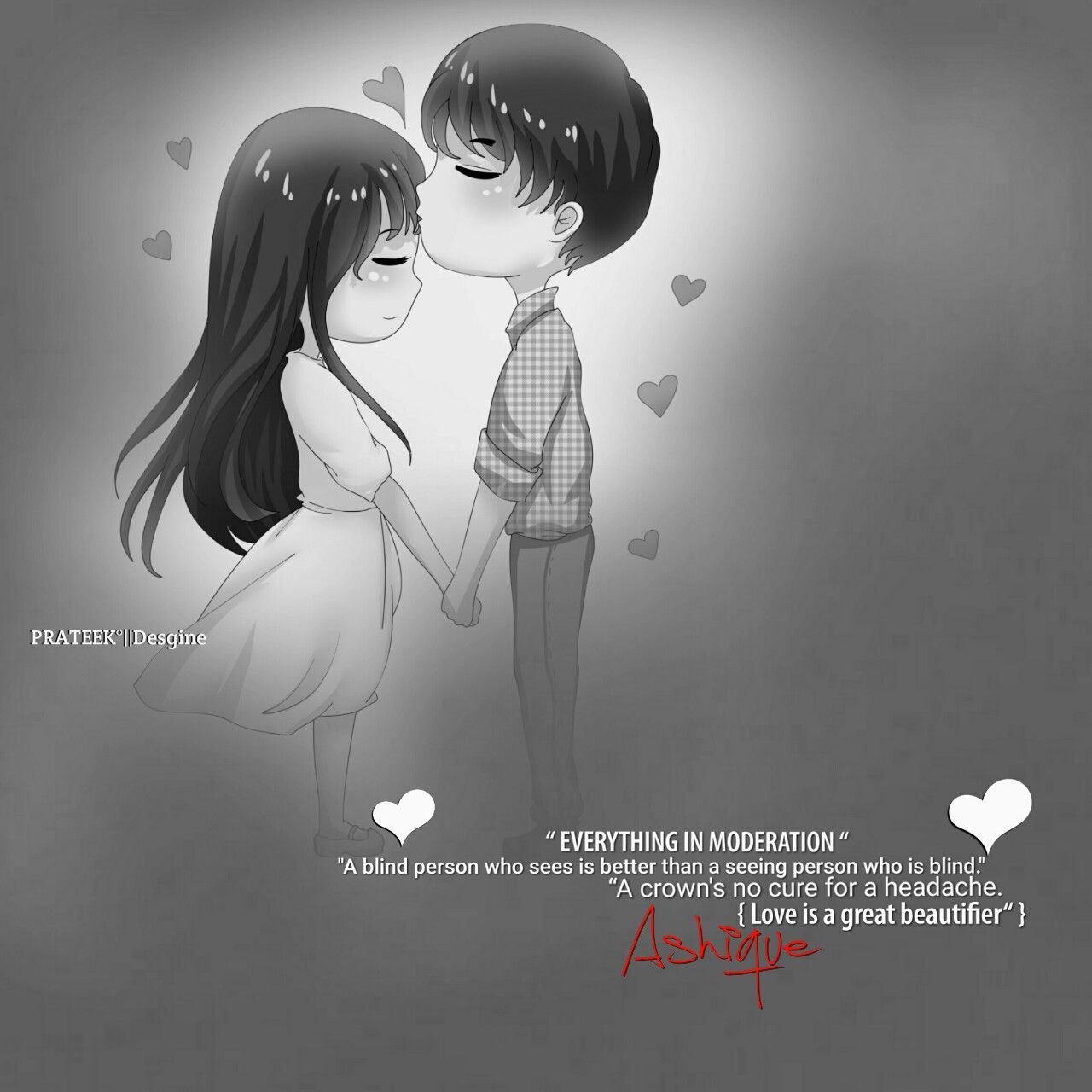 Pin By Chint R On Couple Editz Dp Couple Cartoon Cute Love Romantic Couples