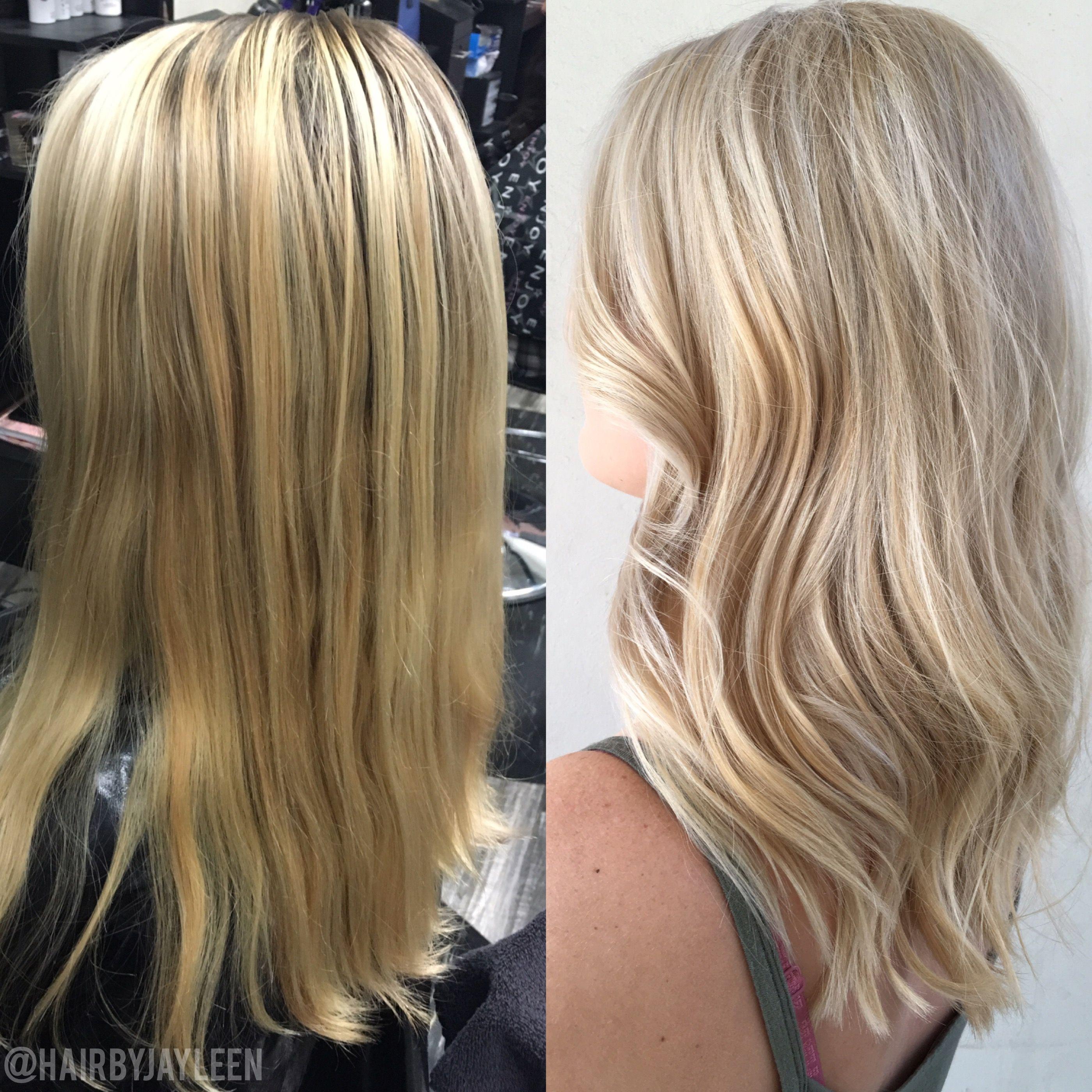 Blonde Hair Platinum Blonde Hair Highlights Balayage Hair
