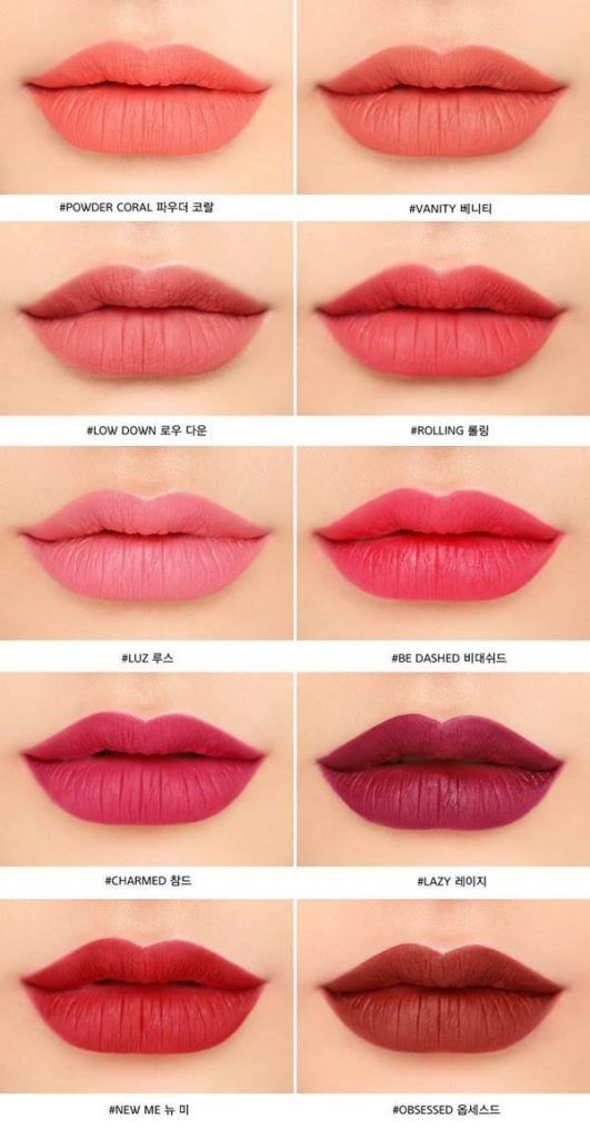 Color Lip Colors Color Makeup Liquid 3ce