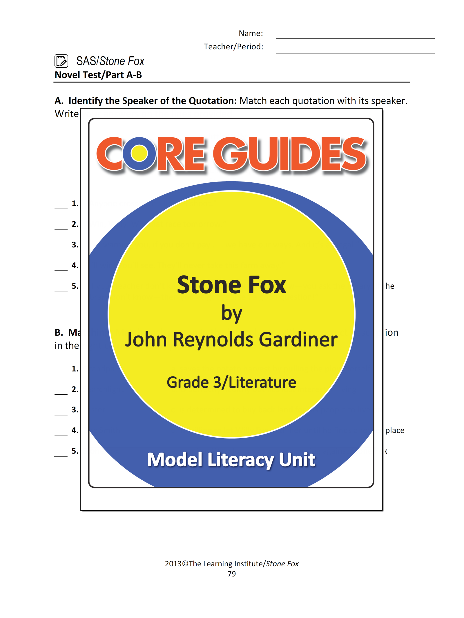 Worksheets Stone Fox Worksheets worksheet stone fox worksheets mytourvn study site download this freebie from our core guide on by john