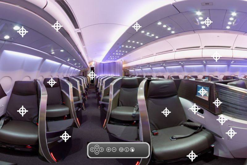 First class tour apps virgin atlantic air