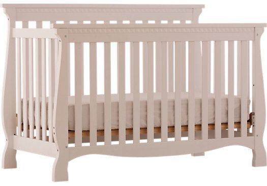 shop for a venetian white crib at rooms to go kids find that will