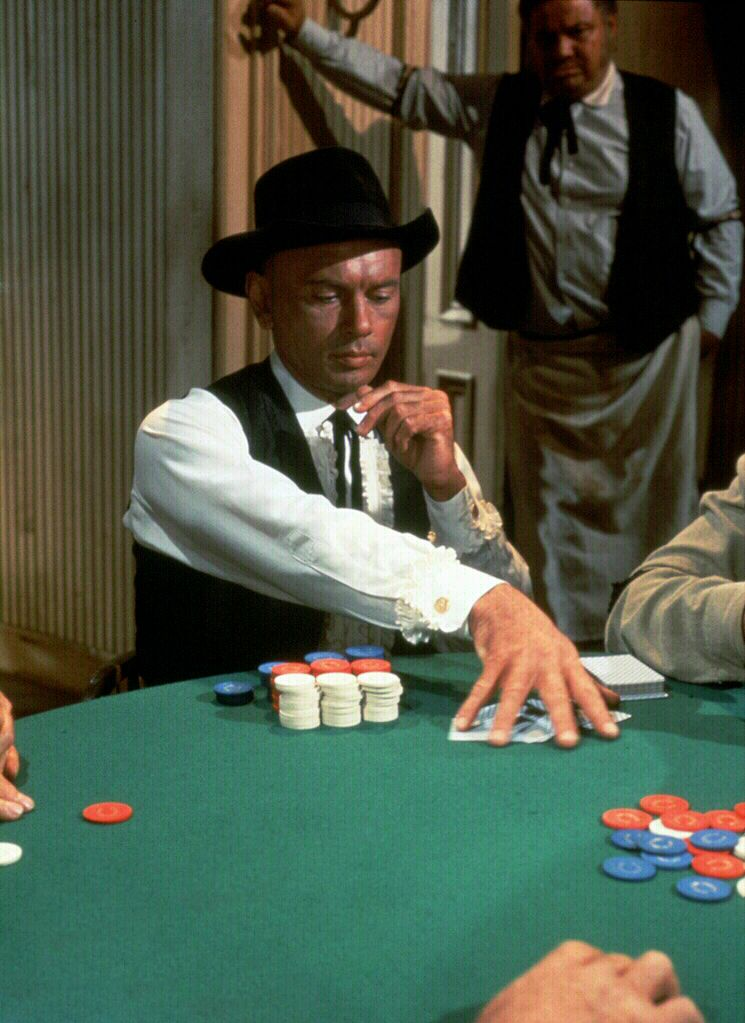 Invitation to a gunfighter 1964 yul brynner the poker invitation to a gunfighter 1964 yul brynner stopboris Gallery