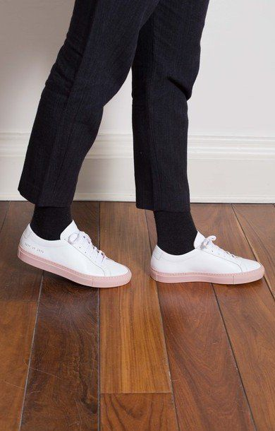 1a788af2d608 Achilles Low White Blush   Common Projects   Common projects ...