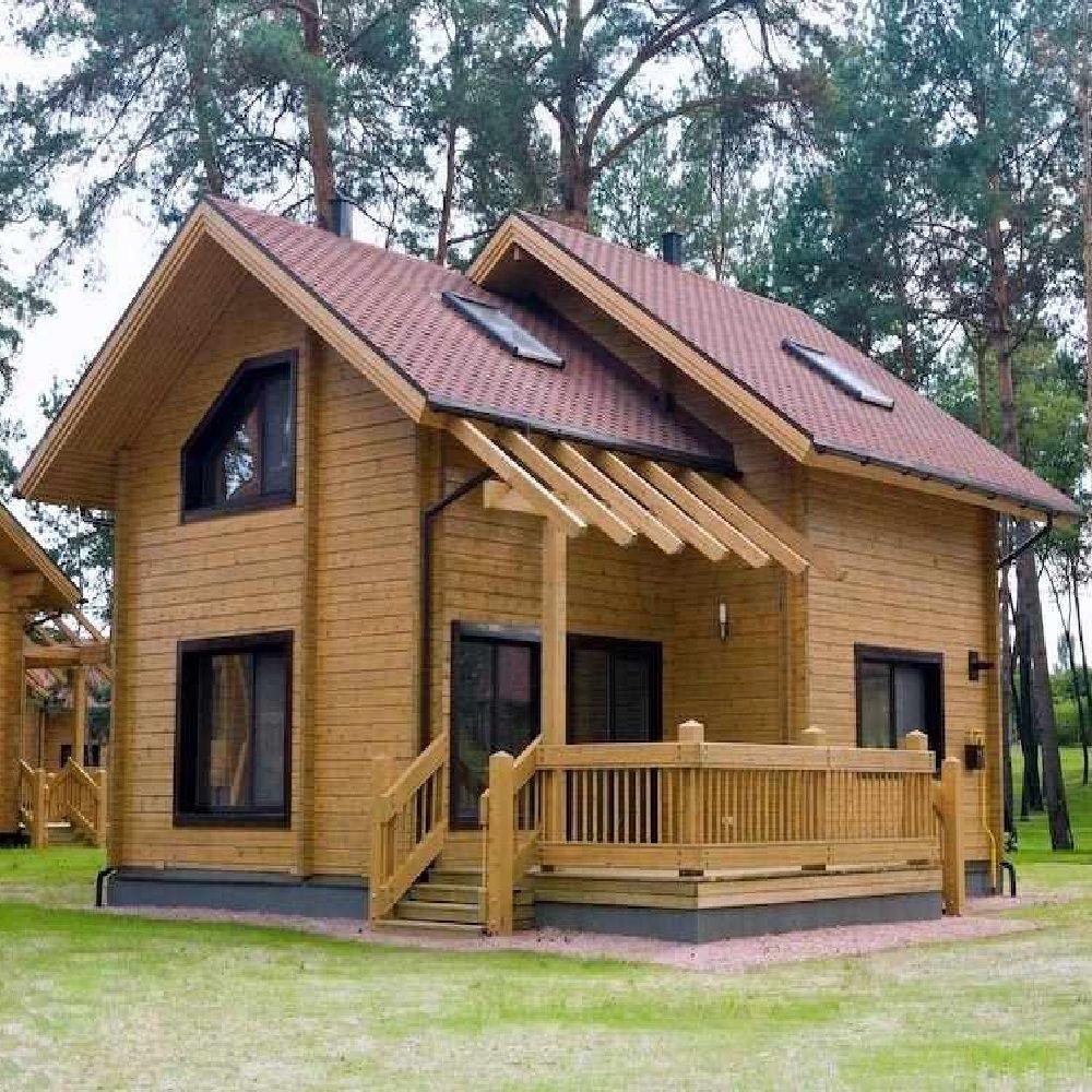 Ahşap Ev Model 56 Amerikan Evleri Ahşap Evler Evler