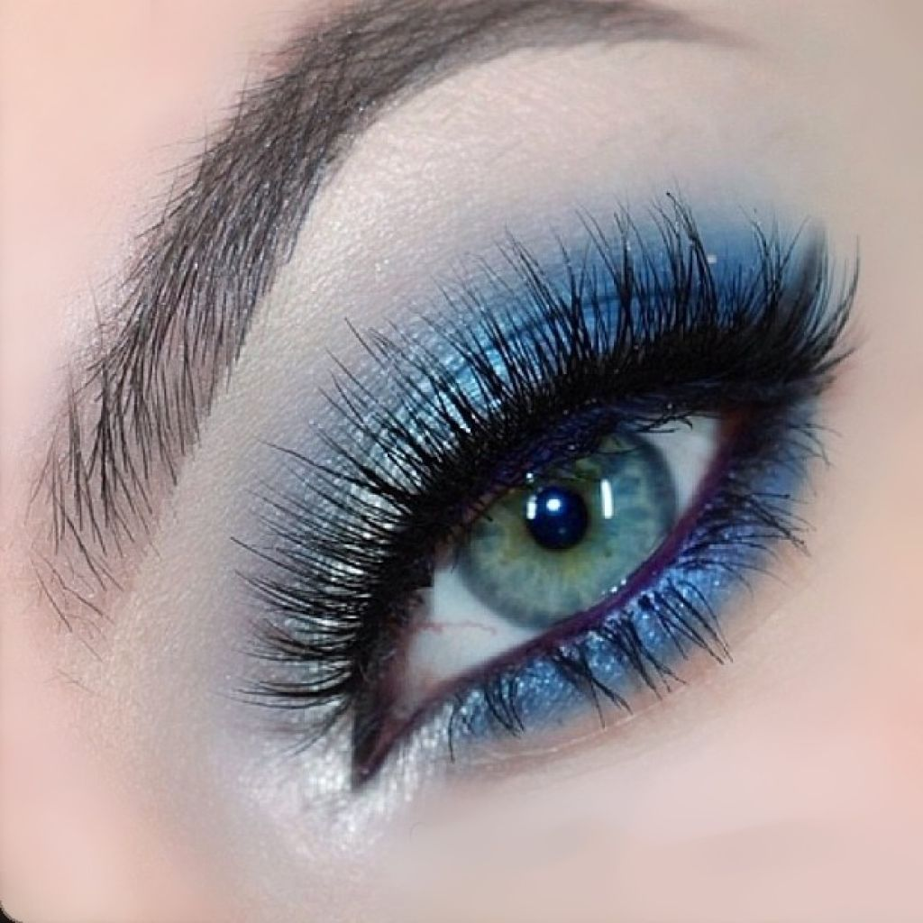 Makeup Prom for blue eyes new photo