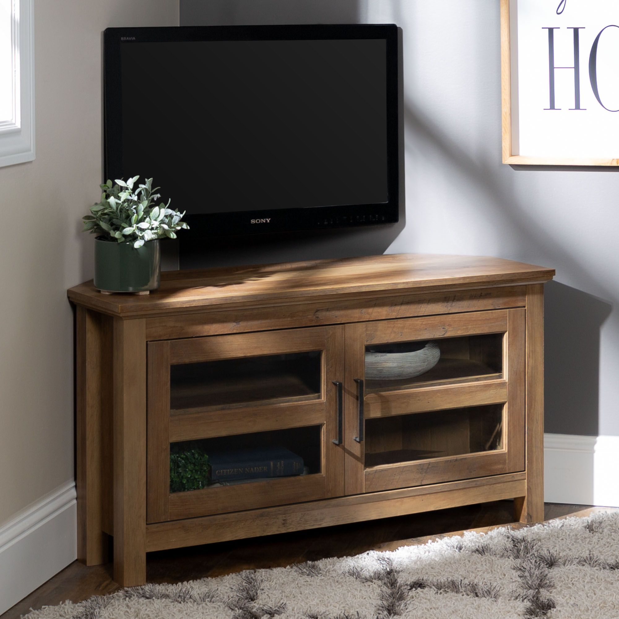 Amazon Com Simpli Home Axchol005 Artisan Collection 54 Inch Width By 36 Inch Height Tv Stand Medi Tall Tv Stands Modern Furniture Living Room Tv Media Stands