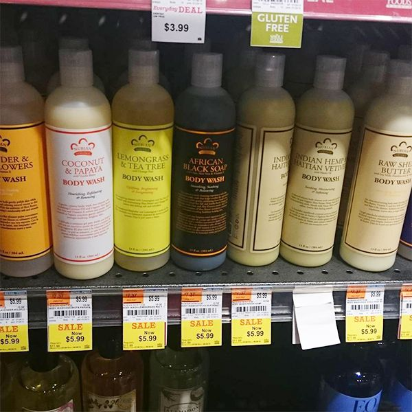 New York City Did You Hear All Nubianheritage Body Wash