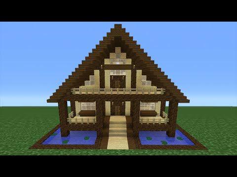 Minecraft holzhaus