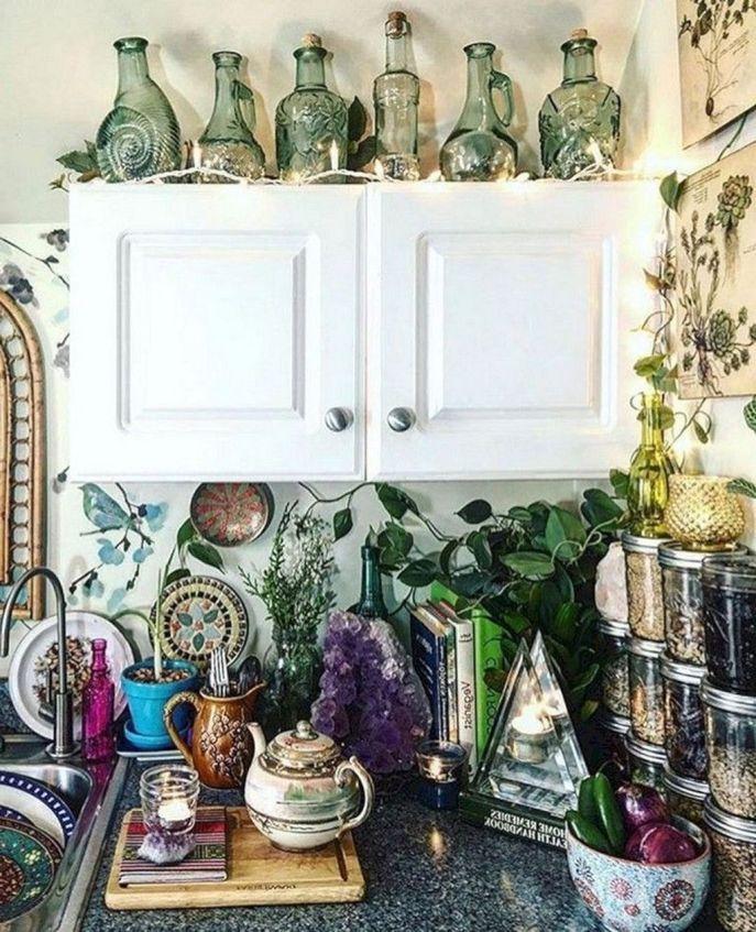 20 fascinating bohemian kitchen decorating ideas bohemian kitchen hippie home decor on kitchen decor hippie id=68143
