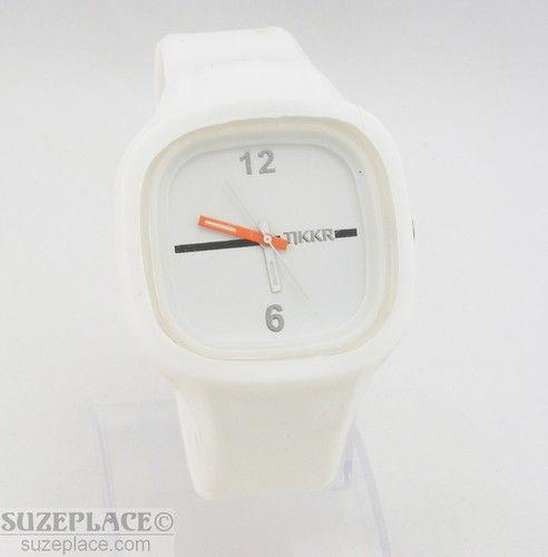 TKKR White Collar Watch SuzePlace.com