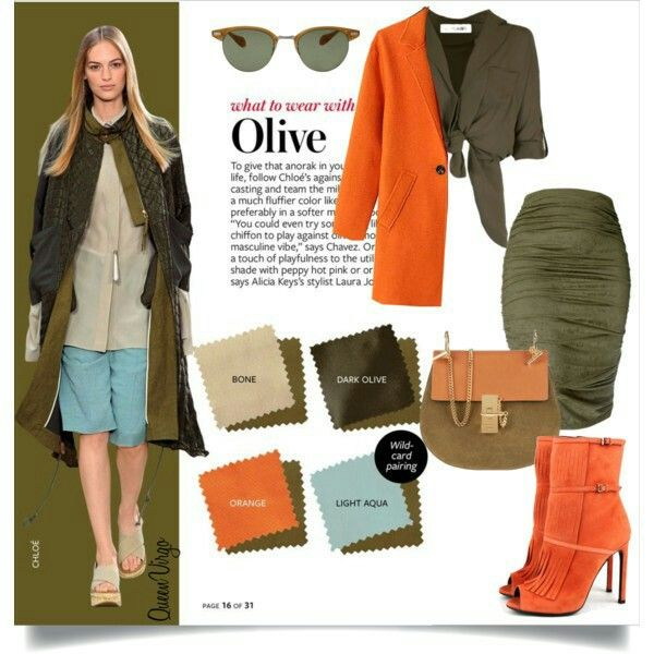 How To Wear Olive Green