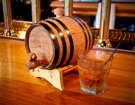 Mini Aging Bourbon Barrels