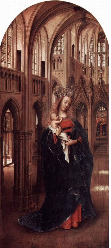 Madonna in a Church (c. 1425); Gemäldegalerie, Berlin, Germany