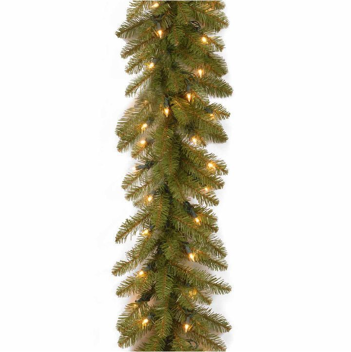 NATIONAL TREE CO National Tree Co Dunhill Fir Christmas Garland