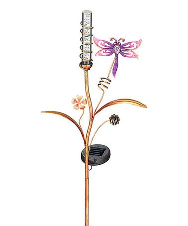 Love this Dragonfly Solar Bubble Stake on #zulily! #zulilyfinds