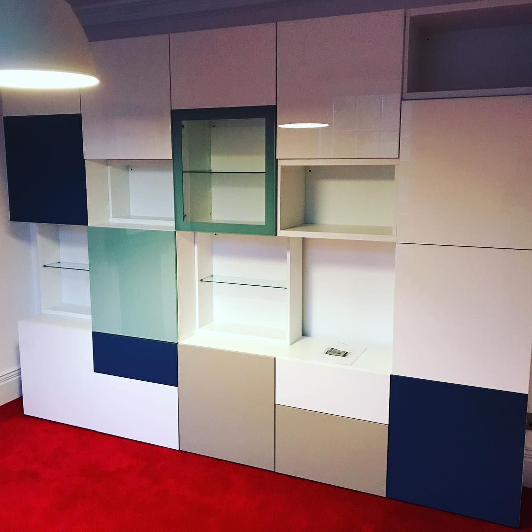 ikea besta office. IKEA Besta Office Combination Designed By The Customer For All Their File \u0026  Storage Needs. Ikea Besta Office U