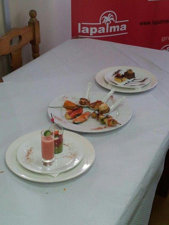 Degustación Coop. La Palma en el II Encuentro de blogueros GASTROTUR 2013.