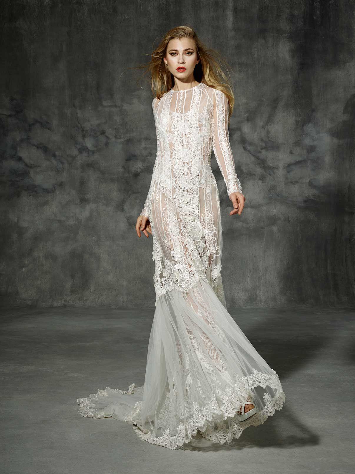 Marcas vestidos novia diferentes