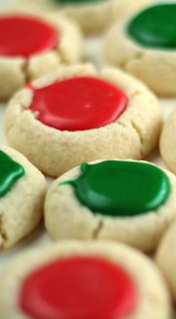 Thumbprint Cookies Recipes You Will Love Xmas Cookies Cookies