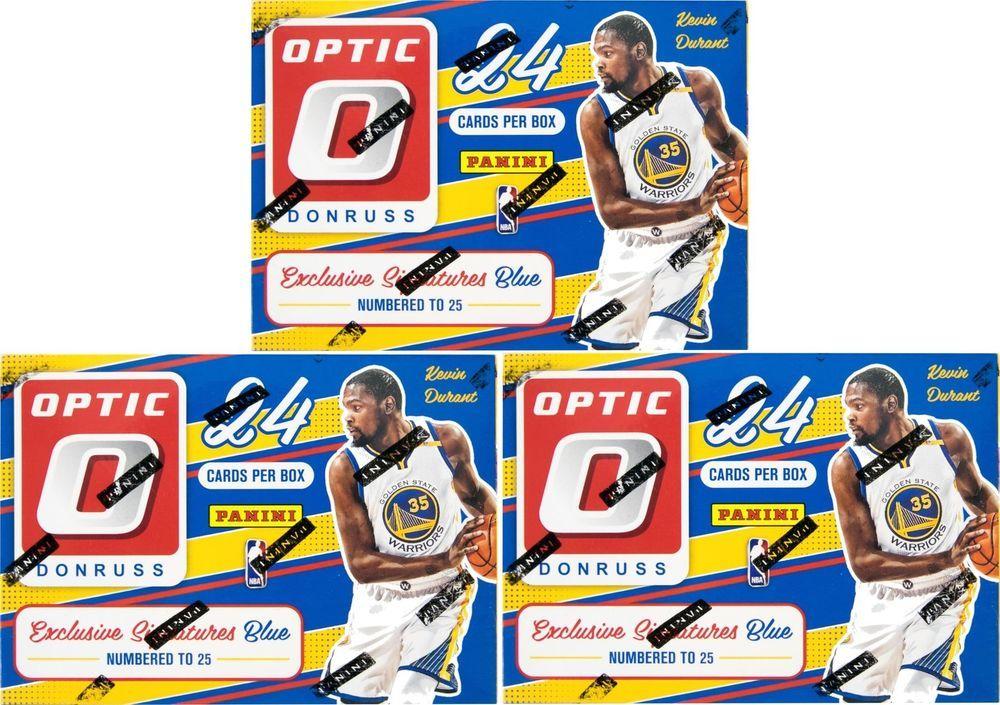 201617 panini donruss optic basketball 6pack box lot of