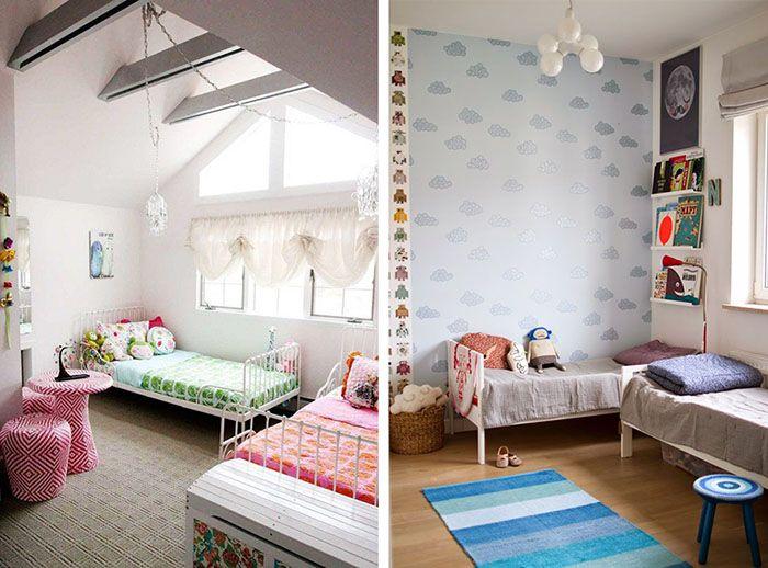 Dormitorios infantiles compartidos | Habitaciones compartidas ...