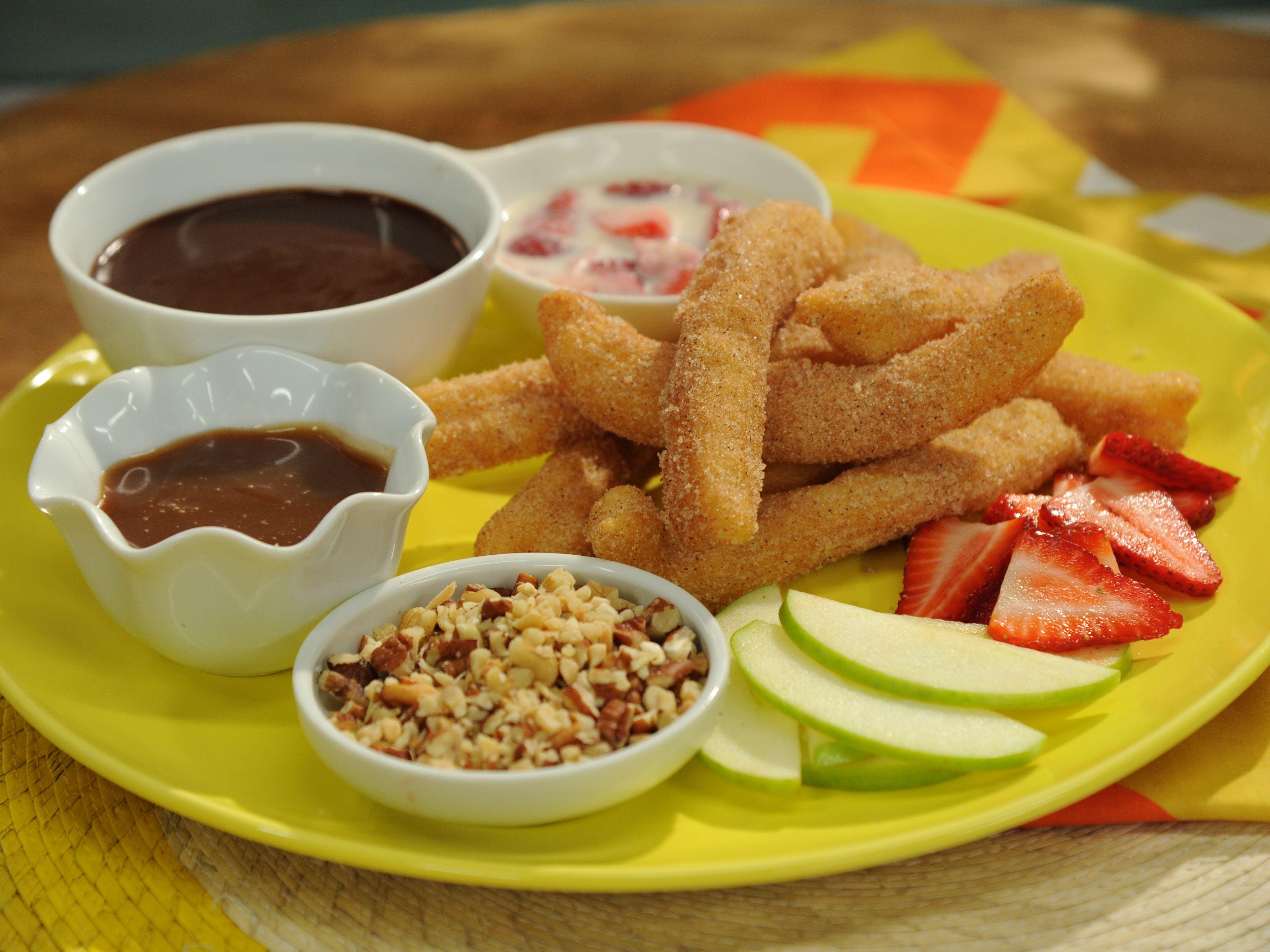 Churros recipe food food network recipes food recipes